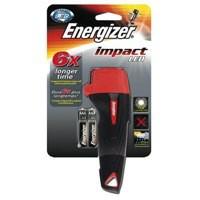 Energizer Impact Led Torch Weatherproof 16Hr 28 Lumens 2AA Code 632629