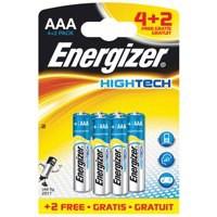Energizer HiTech Batteries AAA 4plus2 632891 Promo Item