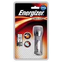 Energizer Value Small Metal Torch & 3AAA Batteries Code 633657