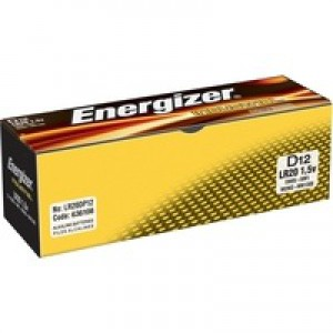 Energizer Industrial Battery C/LR14 Pack of 12 636107
