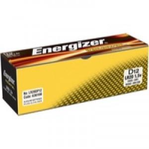 Energizer Industrial Battery D/LR20 Pk 12 636108