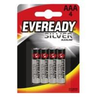 Energizer Eveready Silver alkaline  AAA/r03 fsb4 n/a 637330
