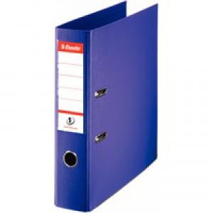 Esselte No1 Power Lever Arch File 75mm A4 Polypropylene Purple 811530
