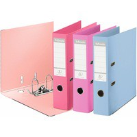 Esselte No1 Power Lever Arch File 75mm A4 Polypropylene Assorted Pack of 10 231040