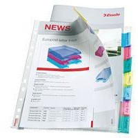 Esselte Index Pocket A4 12-Tab Assorted 414170