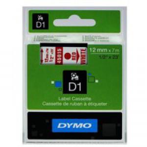 Dymo 4500 Tape Red/White 45015 S0720550