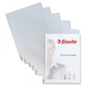 Esselte Pocket Heavy Duty A4 Pack of 25 47187
