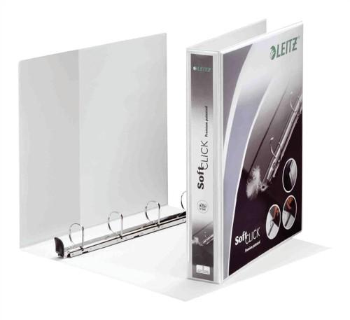 Leitz Panorama 4-Ring Presentation Binder 40mm White 42030-00-1