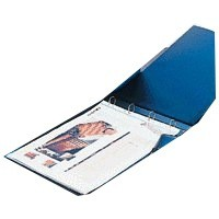 Esselte 4D-Ring Binder A3 25mm Landscape Polypropylene Blue 68735