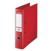 Esselte Lever Arch File Polypropylene Foolscap 75mm Red 48083
