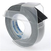 Dymo Embossing Tape 9mm x3 Metres Black Pack of 10 S0898130