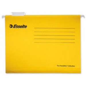 Esselte Pendaflex Economy Suspension File A4 Yellow Pack of 25 90314