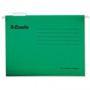 Esselte Pendaflex Economy Suspension File Foolscap Green (Pk 25) 90337