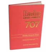 Evrite Account Book Trader Week 707SD