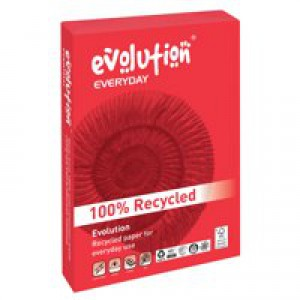 Evolution Everyday Paper A4 75gsm White Ream EVE2175