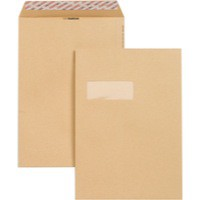 New Guardian Envelopes Heavyweight Pocket Peel and Seal Window Manilla C4 [Pack 250]