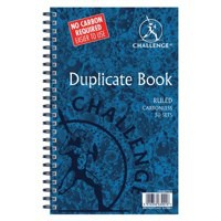 Challenge Duplicate Book Carbonless Ruled 50 Sets 210x130mm Ref 100080469 [Pack 5]