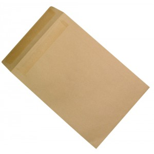 5 Star Envelopes Mediumweight Pocket Press Seal 90gsm Manilla C4 [Pack 250]