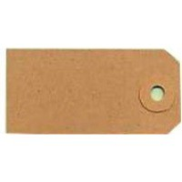 Fisher Clark Tags Unstrung 4A 108x54mm Buff Single Pack of 1000 TG8024