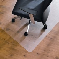 Floortex Value Chairmat for Hard Floors 1200x750mm Clear