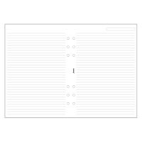 Image for Filofax Personal Ruled Paper White 133008