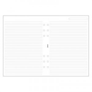 Filofax Personal Ruled Paper White 133008