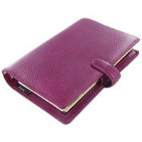 Filofax Finsbury Personal Organiser Raspberry 025305
