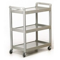 GPC 3-Shelf Service Trolley Grey HI424Y