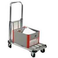 Image for GPC Folding Lightweight Trolley Alum