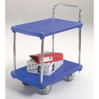 GPC 2-Tier Platform Trolley Plastic GI915Y