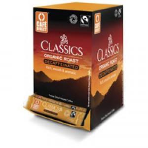 Cafe Direct Fairtrade Decaffeinated Freeze Dried Instant Coffee Sticks (Pk 250) TWI41032