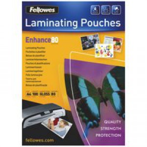 Acco GBC Laminating Pouch A4 75micron High Speed Pack of 100 3747347