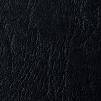 Acco GBC A4 Binding Covers 250gsm Textured Leathergrain Plain Black Pack of 100 CE040010