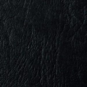 Acco GBC A4 Binding Covers 250gsm Textured Leathergrain Window Black Pack of 50 46705E