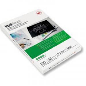 Acco GBC Laminating Pouch A3 Matt 150micron Pack of 100 41660E