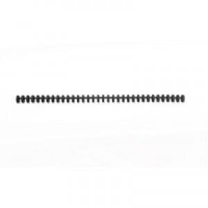 Acco GBC A4 8mm Clicks Black Pack of 50 388019E