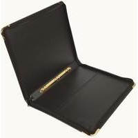 Presentation Case Vinyl Metal Trim Capacity 15 Sleeves 9 Ring A1 Black