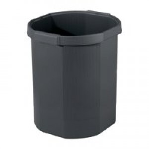Exacompta Eco Waste Bin Black Code 435014D