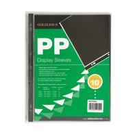 Goldline Polypropylene Display Sleeve A4 Pack of 10 PDSA4Z