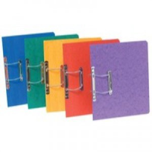 Europa Spiral File Assorted A Pack of 25 3000