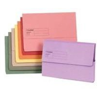 Image for Guildhall Yellow Document Wallet Pk50