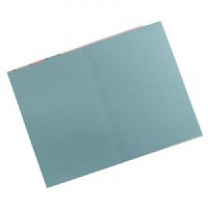 Guildhall Square Cut Folder Foolscap 315gsm Blue FS315