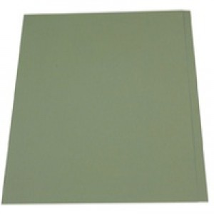 Guildhall Square Cut Folder Foolscap 315gsm Green FS315