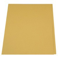 Guildhall Square Cut Folder Foolscap 315gsm Yellow FS315