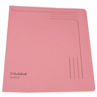 Guildhall Slipfile 12.5x9 Inches Pink 14604