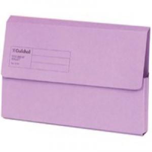 Guildhall Document Wallet Blue Angel Violet GDW1-VLT