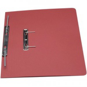 Guildhall Transfer Spring File Red 348-RED
