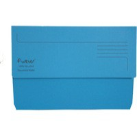 Guildhall Bright Foolscap Manilla Wallet Blue 211/5001