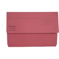 Guildhall Bright Foolscap Manilla Wallet Pink 211/5002