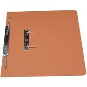 Guildhall Transfer Spring Files Heavyweight 420gsm Capacity 38mm Foolscap Orange